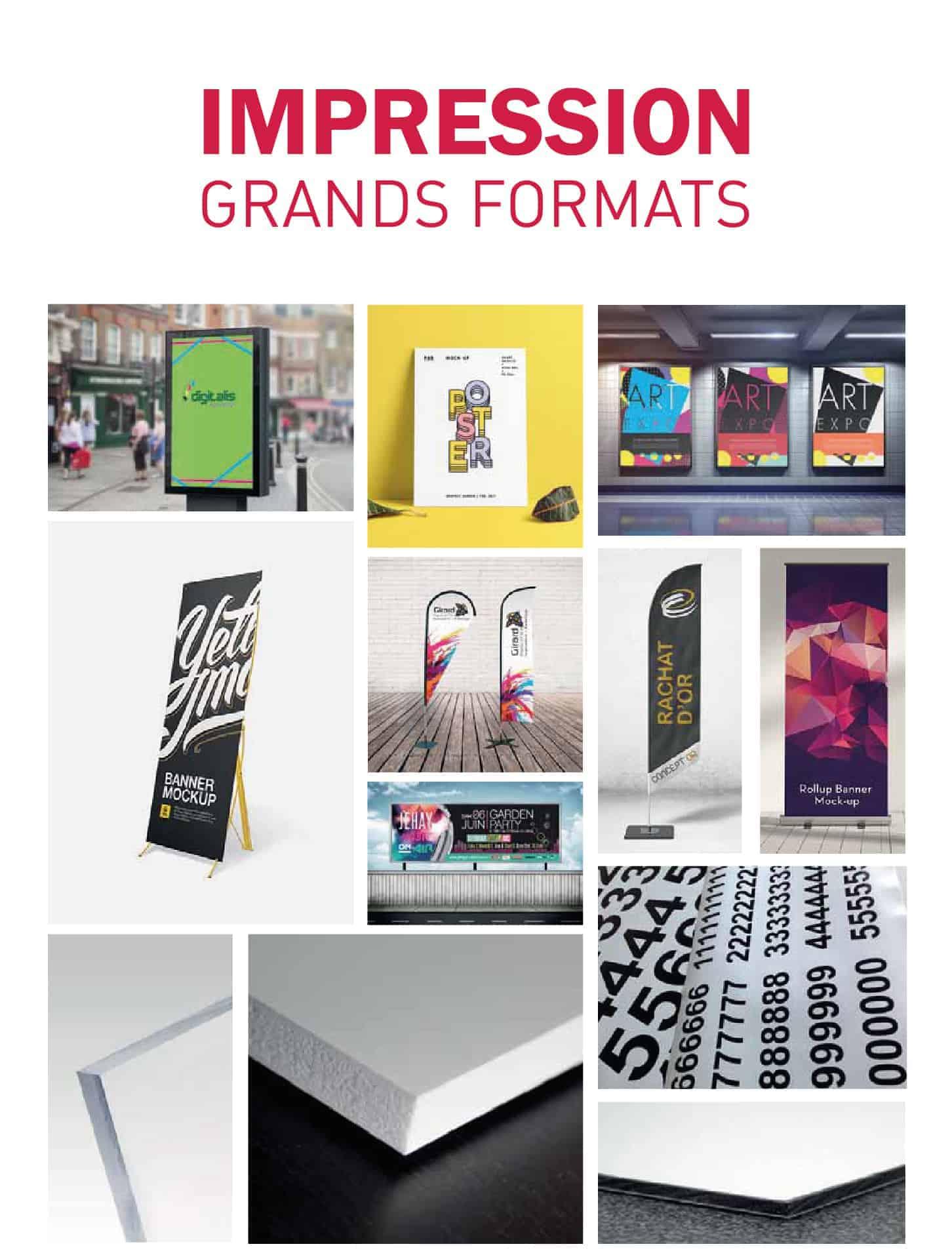Impression grands formats