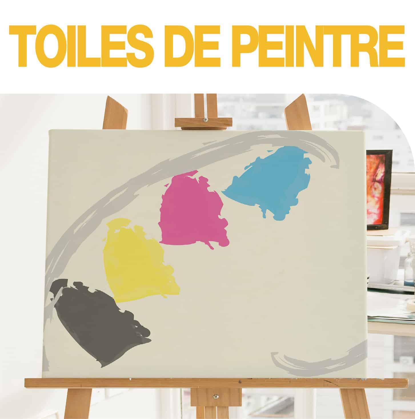 TOILES DE PEINTRE